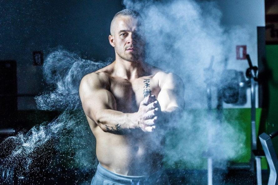 Fitness franchise met personal trainer
