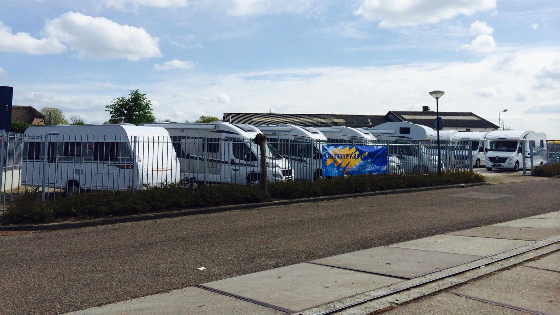 Caravan of camper huren voor vakantie